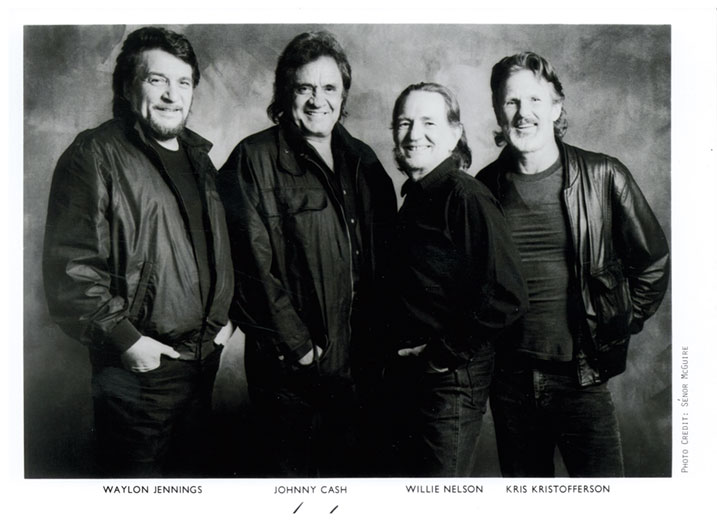 The Highwaymen 8x10 Photo