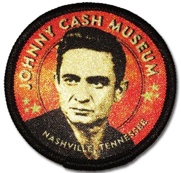 Johnny Cash Museum Red Patch