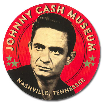 Johnny Cash Museum Sticker
