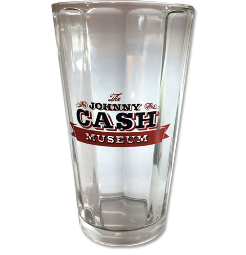 Johnny Cash Museum Optic Pint Glass