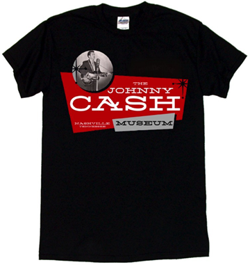 Retro Johnny Cash Museum T-Shirt