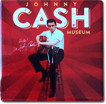Johnny Cash Museum Coaster