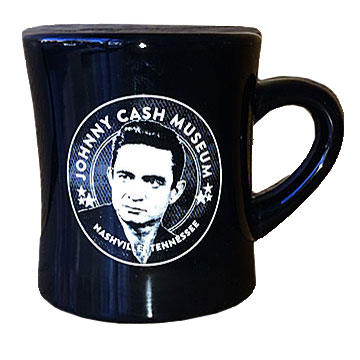 Johnny Cash Museum Diner Mug