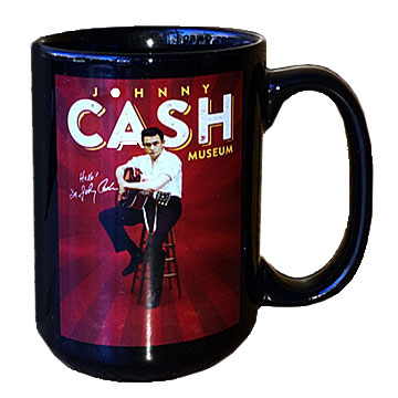 Johnny Cash Museum Sitting Coffee Mug