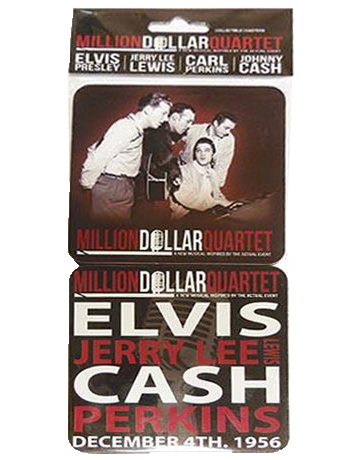 Million Dollar Quartet Set of 4 Coasters | Johnny Cash