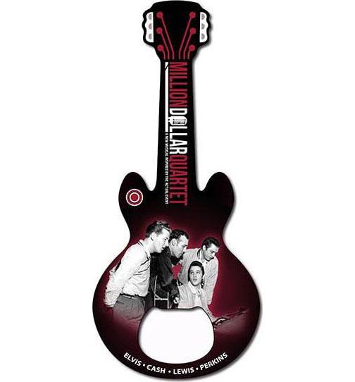 Million Dollar Quartet Bottle Opener | Johnny Cash