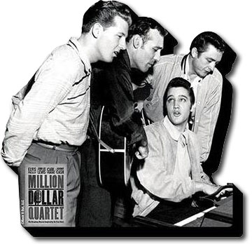 Million Dollar Quartet Chunky Magnet | Johnny Cash