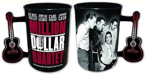 Million Dollar Quartet Sepia Coffee Mug