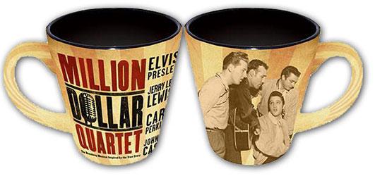 Million Dollar Quartet Sepia Latte Mug