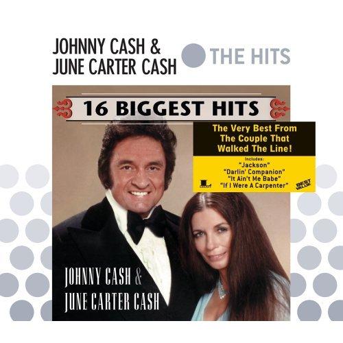 Johnny Cash & June Carter Cash 16 Biggest Hits