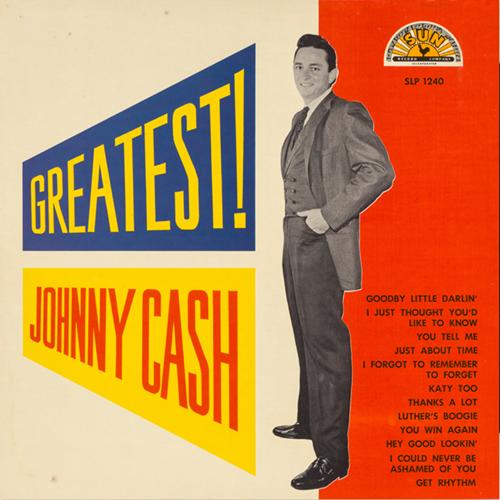 Johnny Cash - Greatest! LP