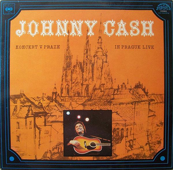 Johnny Cash Koncert V Praze (In Prague-Live) CD