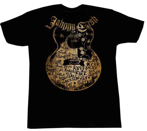 Johnny Cash - JC Songs T-shirt