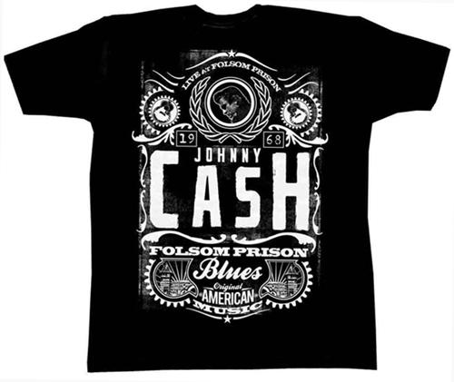Johnny Cash Live at Folsom Prison T-shirt