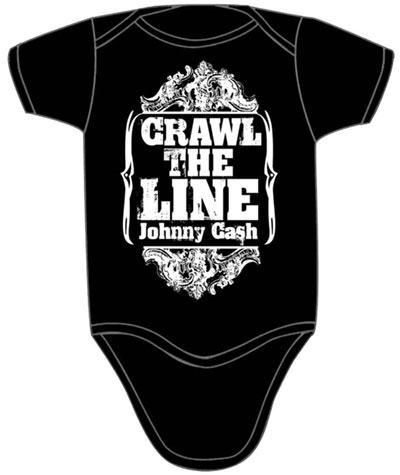 Crawl The Line Onesie