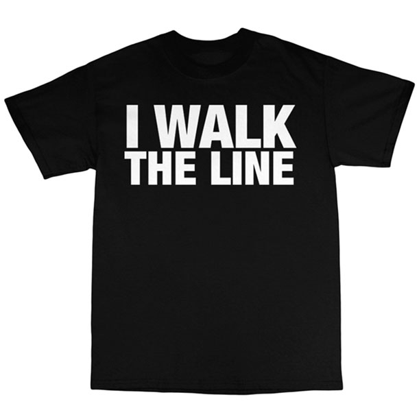 Johnny Cash I Walk The Line T-shirt