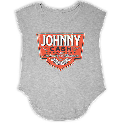 JC Wings Emblem Grey Tank
