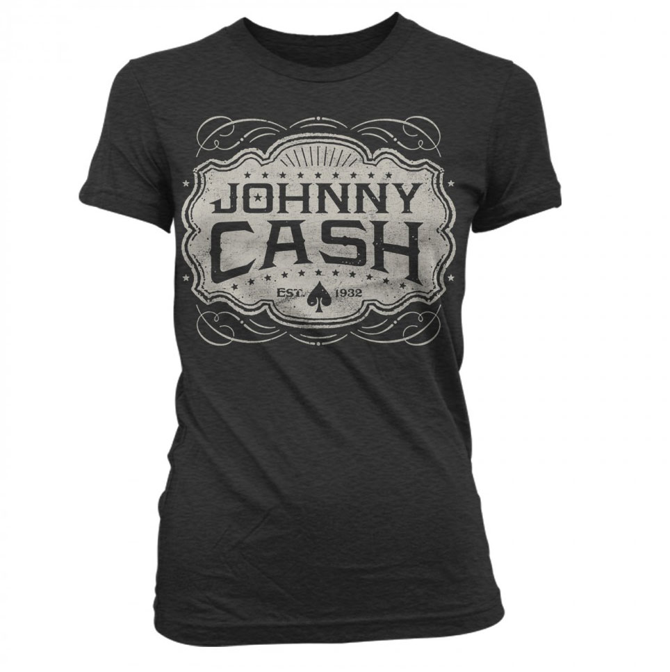 Johnny Cash Emblem Tee