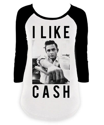 I Like Cash Raglan