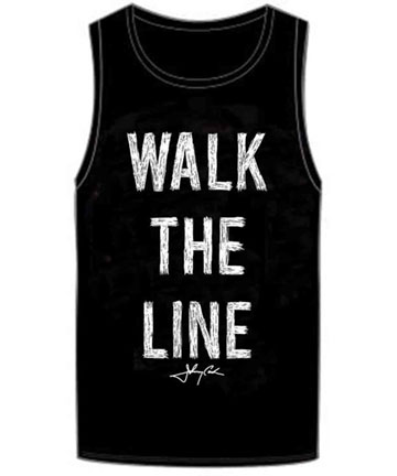 Walk the Line Sketch Muscle Tee