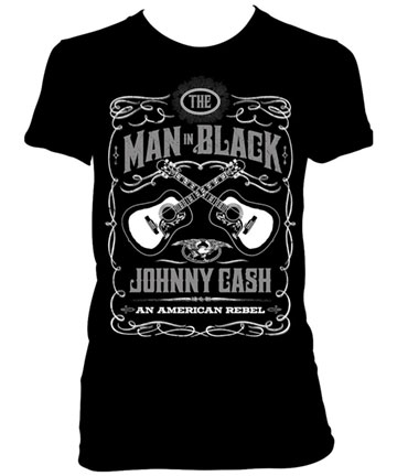 Johnny Cash Guitar Rebel Tee