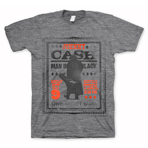 Johnny Cash One Night Only T-shirt