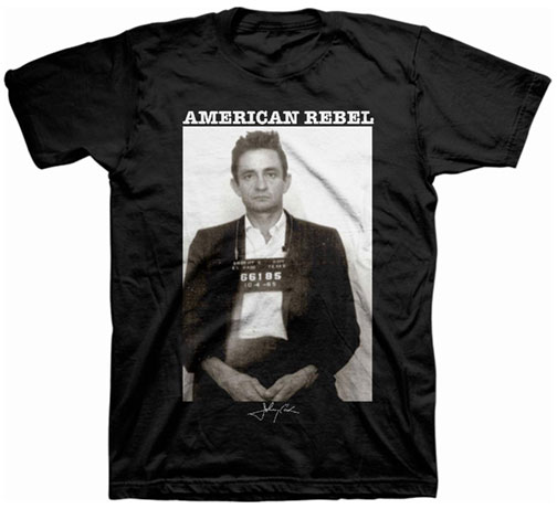 Johnny Cash Mugshot T-shirt