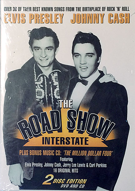 Elvis Presley and Johnny Cash Road Show DVD