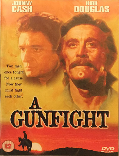 Johnny Cash A Gunfight DVD