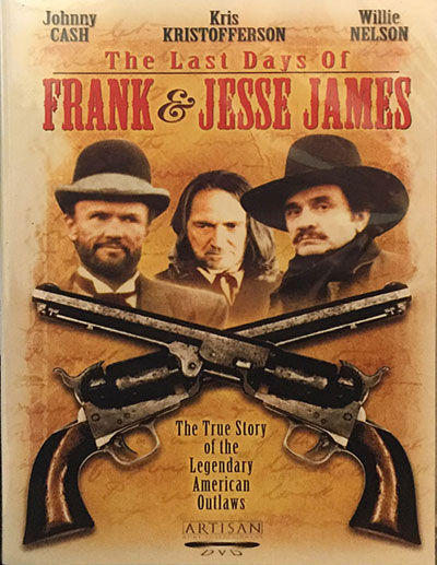 The Last Days of Frank and Jesse James DVD