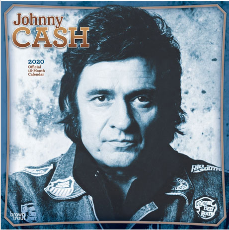 2020 Johnny Cash Wall Calendar