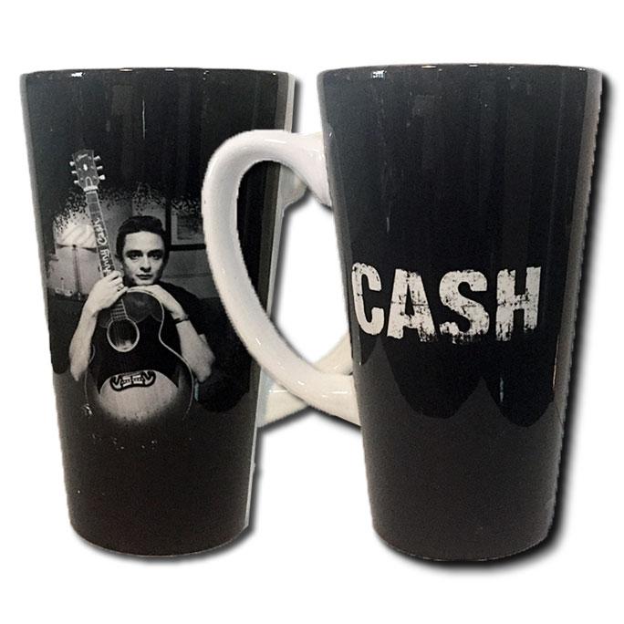 Johnny Cash Latte Mug