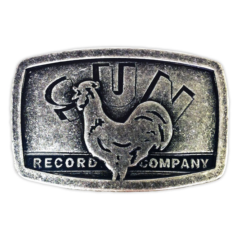 Sun Records Rooster Belt Buckle