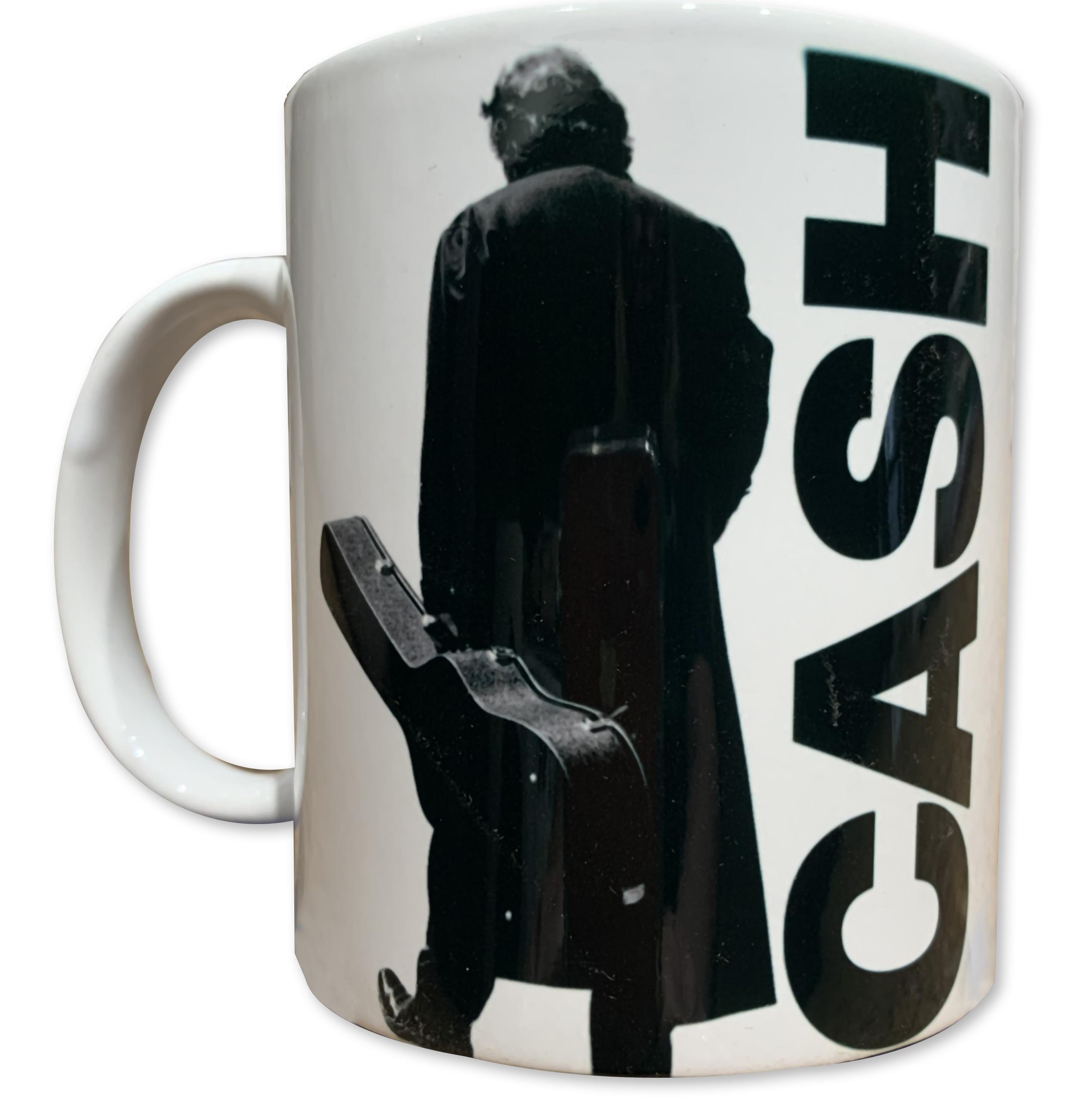 Johnny Cash Long Black Coat Mug