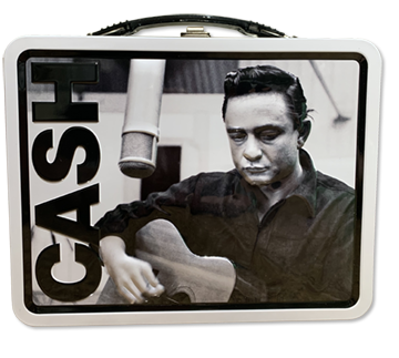 Johnny Cash Lunch Box