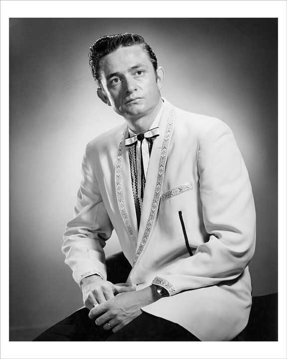 1955 Johnny Cash First Sun Records Publicity 8x10 Photo