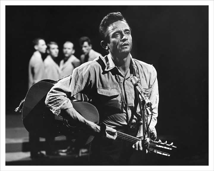 Johnny Cash Shindig TV Performance 1965 8x10 Photo