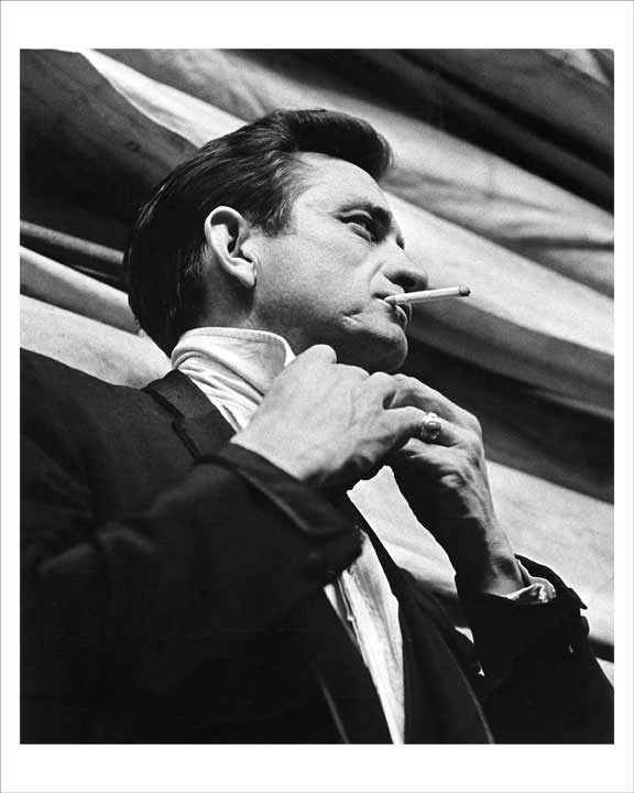 Johnny Cash 1965 8x10 Photo