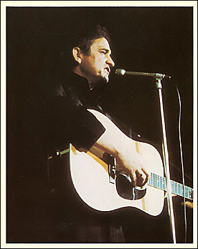 Vintage 1970 Johnny Cash 8x10 Photo