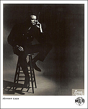 1958 Johnny Cash Publicity Shot 8x10 Photo
