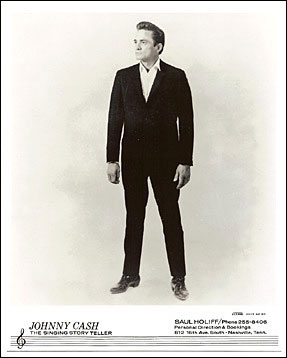 Johnny Cash Standing 8x10 Photo