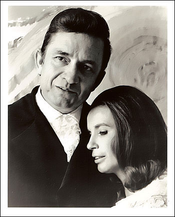 Johnny Cash and June Carter 1969 8x10 Photo