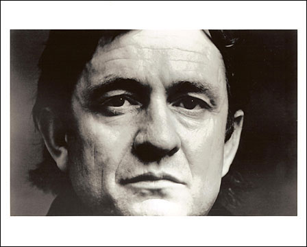 1970 Johnny Cash Publicity 8x10 Photo