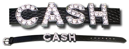 Crystal CASH Bracelet made by Joanne Cash Yates