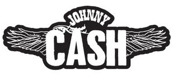 Johnny Cash Wings Enamel Pin