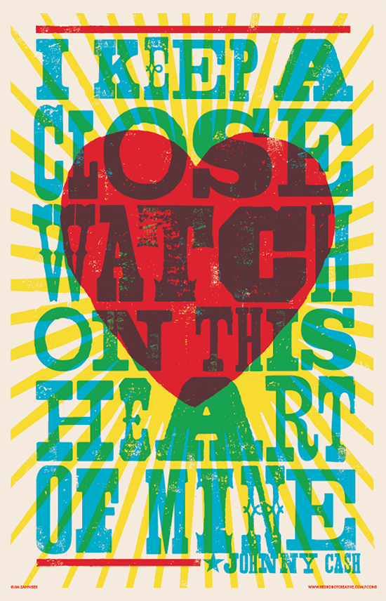 I Keep A Close Watch 11x17 Print