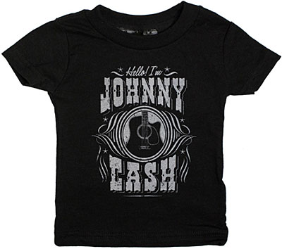 Hello I'm Johnny Cash Kid's Tee