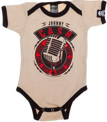 Johnny Cash Microphone Onesie