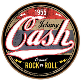 1955 Rock & Roll Sticker
