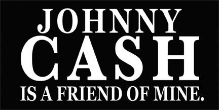 Johnny 7 in x 3 in CASH Sticker